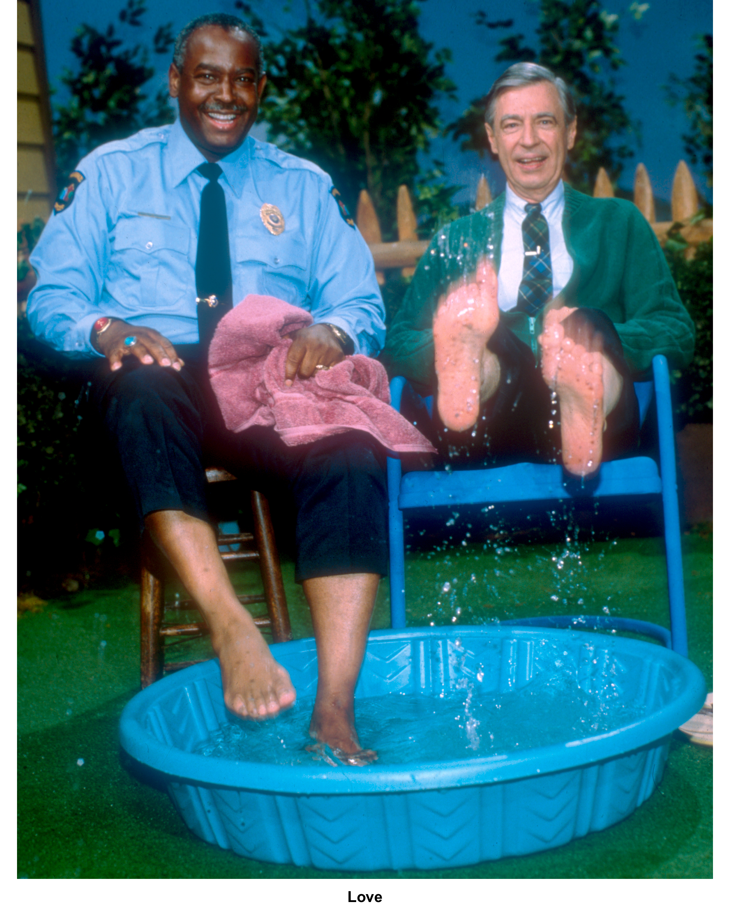 Fc Pool With Fred Rogers Mister Rogers Neighborhood