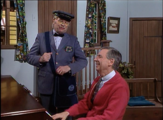 Mr Mcfeely Singing With Mister Rogers Mister Rogers Neighborhood